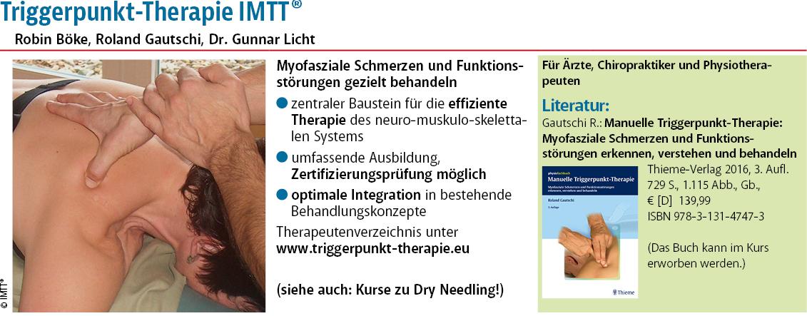 Triggerpunkt-Therapie IMTT